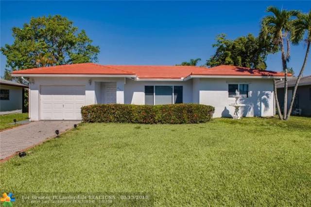 8105 NW 100th Ter, Tamarac, FL 33321 (MLS #F10111840) :: Green Realty Properties
