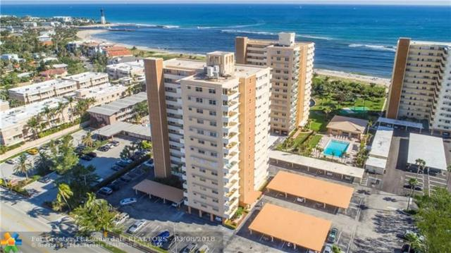 1630 N Ocean Blvd #1013, Pompano Beach, FL 33062 (MLS #F10112208) :: Green Realty Properties