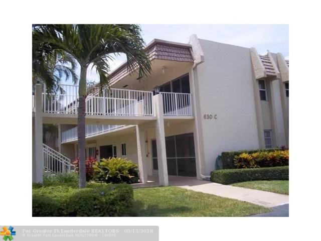 630 Snug Harbor Dr C14, Boynton Beach, FL 33435 (MLS #F10112555) :: Green Realty Properties