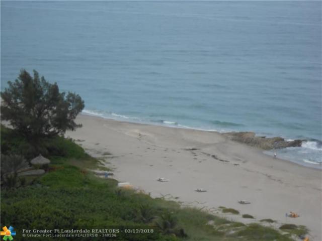 3800 N Ocean Dr #1907, Riviera Beach, FL 33404 (MLS #F10112889) :: Green Realty Properties