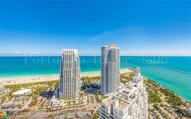 300 S Pointe Dr #3806, Miami Beach, FL 33139 (MLS #F10113050) :: Green Realty Properties