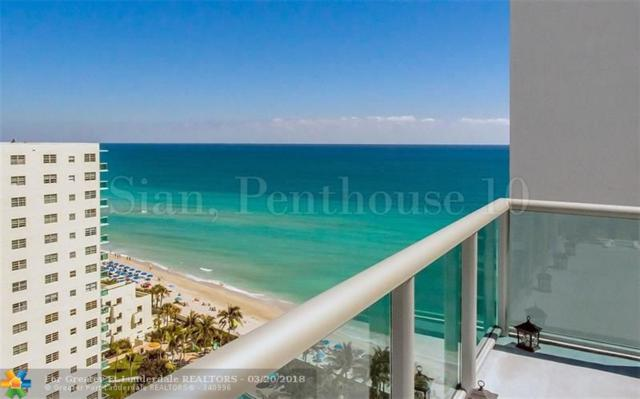 4001 S Ocean Dr Ph10, Hollywood, FL 33019 (MLS #F10113062) :: The O'Flaherty Team