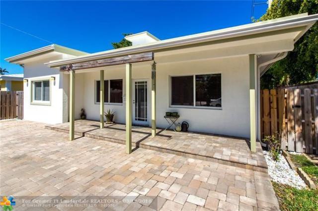 1129 NE 16TH ST, Fort Lauderdale, FL 33304 (MLS #F10113100) :: Green Realty Properties