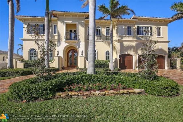 4131 NE 30TH TER, Lighthouse Point, FL 33064 (MLS #F10113282) :: Green Realty Properties