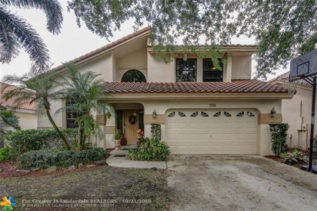 1781 NW 104th Ave, Plantation, FL 33322 (MLS #F10114494) :: The Dixon Group