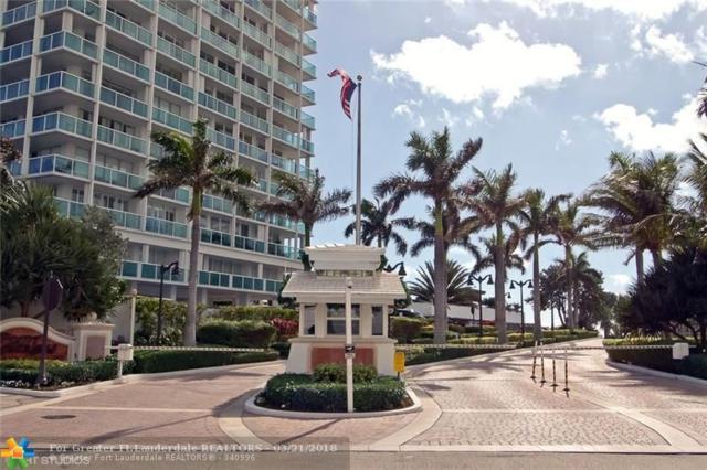 2100 S Ocean Ln #1503, Fort Lauderdale, FL 33316 (MLS #F10114498) :: Green Realty Properties