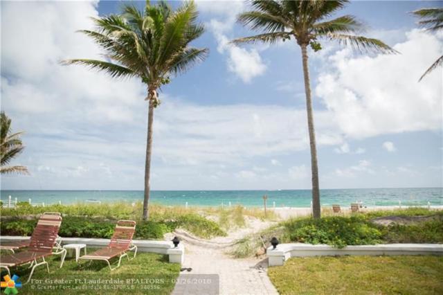 1431 S Ocean Blvd #61, Pompano Beach, FL 33062 (MLS #F10115280) :: Green Realty Properties