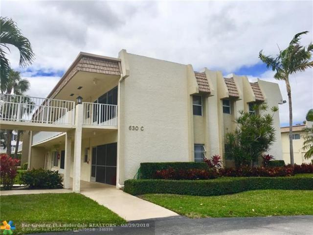 630 Snug Harbor Dr C5, Boynton Beach, FL 33435 (MLS #F10115784) :: Green Realty Properties