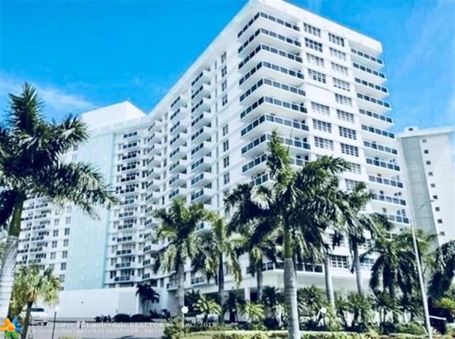 3725 S Ocean Dr #824, Hollywood, FL 33019 (MLS #F10116389) :: Green Realty Properties