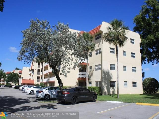 1040 Country Club Dr #107, Margate, FL 33063 (MLS #F10116578) :: Green Realty Properties