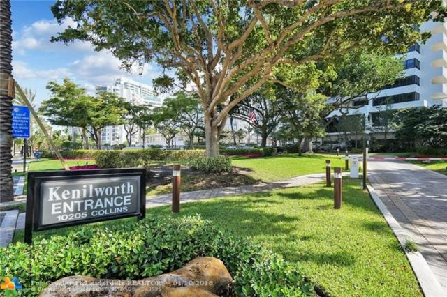 10205 Collins Ave #104, Bal Harbour, FL 33154 (MLS #F10117308) :: Green Realty Properties