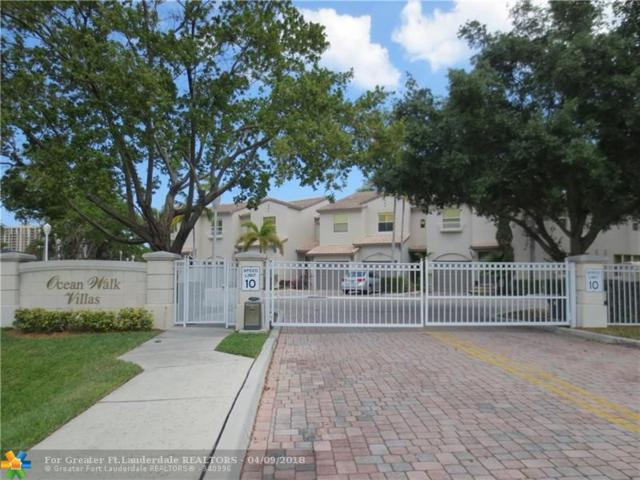 1900 Oceanwalk Lane #100, Lauderdale By The Sea, FL 33062 (MLS #F10117318) :: Green Realty Properties