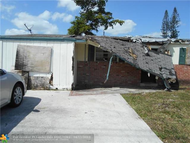 6319 Southgate Blvd, Margate, FL 33068 (MLS #F10117731) :: Green Realty Properties