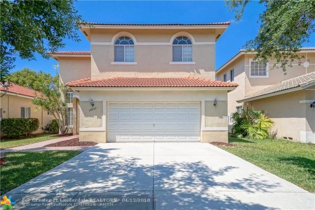 14051 SW 32nd St, Miramar, FL 33027 (MLS #F10117811) :: Green Realty Properties