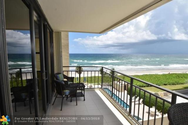 3009 S Ocean Blvd #405, Highland Beach, FL 33487 (MLS #F10117861) :: Green Realty Properties