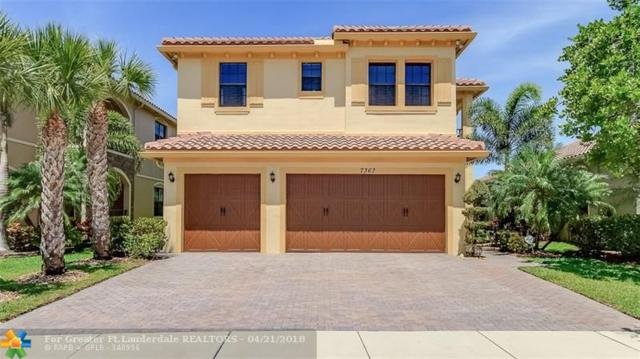 7367 NW 111th Way, Parkland, FL 33076 (MLS #F10118467) :: Green Realty Properties