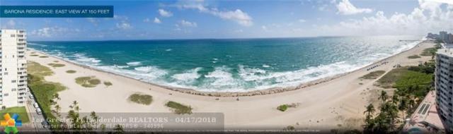 730 N Ocean Blvd #1002, Pompano Beach, FL 33062 (MLS #F10118665) :: Green Realty Properties