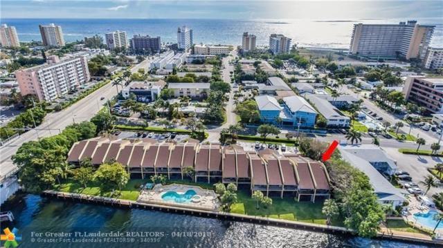 1301 N Riverside Dr #1, Pompano Beach, FL 33062 (MLS #F10118676) :: Green Realty Properties
