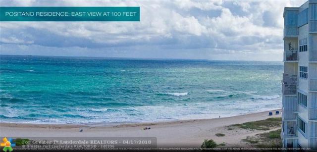 730 N Ocean Blvd #1005, Pompano Beach, FL 33062 (MLS #F10118733) :: Green Realty Properties