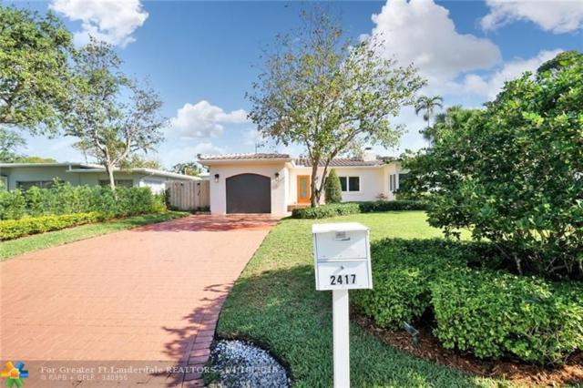 2417 NE 13th Ct, Fort Lauderdale, FL 33304 (MLS #F10119012) :: The O'Flaherty Team