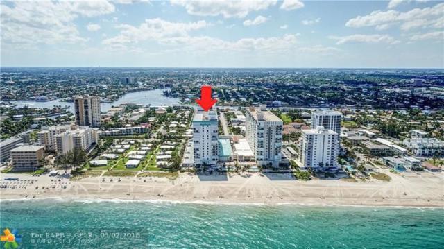 1010 S Ocean Blvd #1707, Pompano Beach, FL 33062 (MLS #F10119358) :: Green Realty Properties