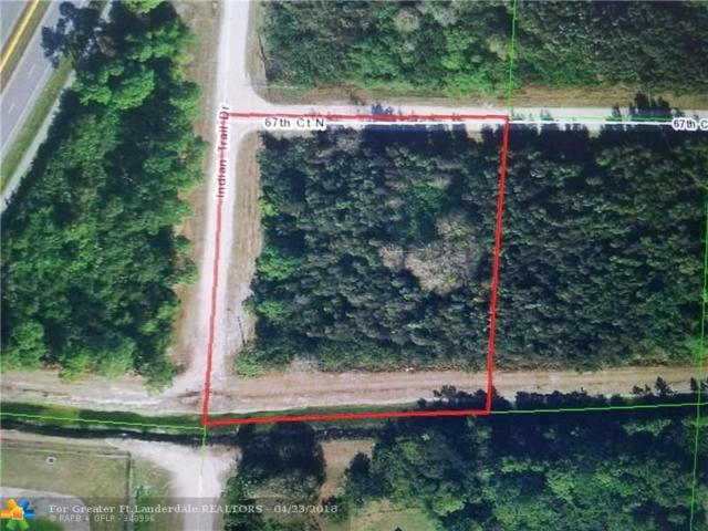 67TH N 67TH CT N, Unincorporated Pb County, FL 33470 (MLS #F10119600) :: Green Realty Properties