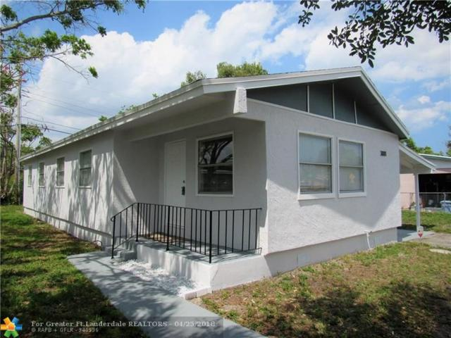 3081 NW 24th St, Fort Lauderdale, FL 33311 (MLS #F10119918) :: Green Realty Properties