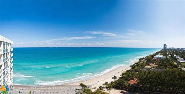 3180 S Ocean Dr #1712, Hallandale, FL 33009 (MLS #F10119990) :: Green Realty Properties