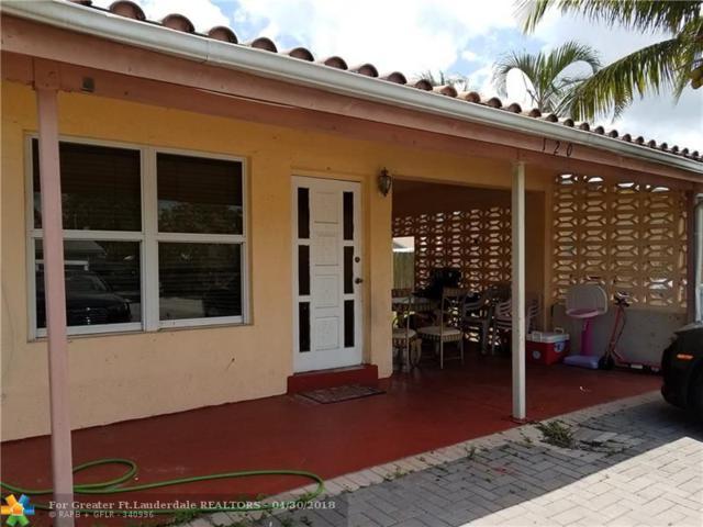 120 NE 26th Ct, Pompano Beach, FL 33064 (MLS #F10120554) :: Green Realty Properties