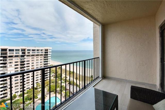 5000 N Ocean Blvd #1610, Lauderdale By The Sea, FL 33308 (MLS #F10120715) :: Green Realty Properties
