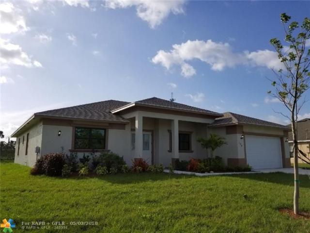 378 Ridgecrest, Port Saint Lucie, FL 34953 (MLS #F10121197) :: Green Realty Properties