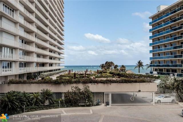 4100 Galt Ocean Dr #201, Fort Lauderdale, FL 33308 (MLS #F10121455) :: Green Realty Properties