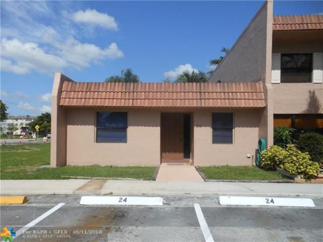 24 Laredo Pl 1-2, Davie, FL 33324 (MLS #F10122341) :: Green Realty Properties