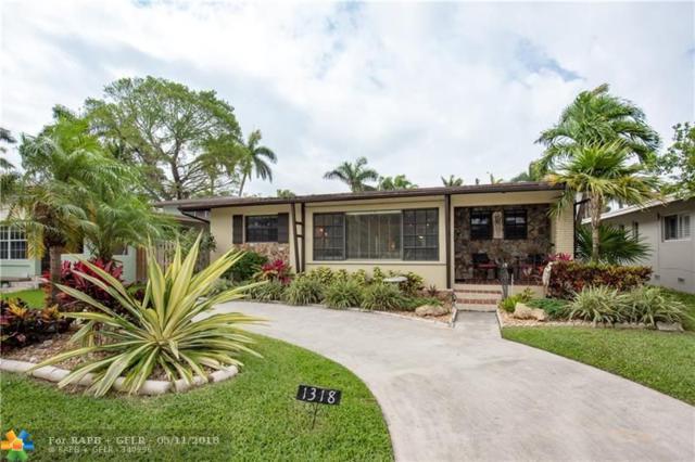 1318 Tyler St, Hollywood, FL 33019 (MLS #F10122452) :: Green Realty Properties
