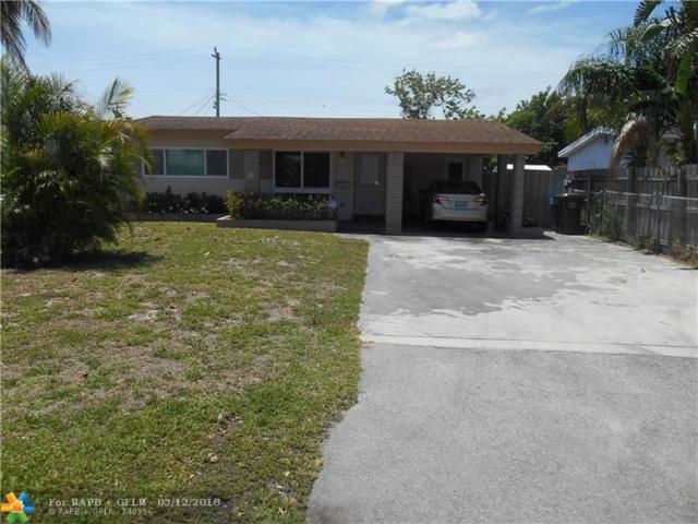 560 NE 46th St, Oakland Park, FL 33334 (MLS #F10122577) :: Green Realty Properties