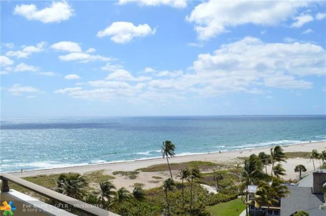 2000 S Ocean Blvd 8J, Pompano Beach, FL 33062 (MLS #F10122806) :: Green Realty Properties