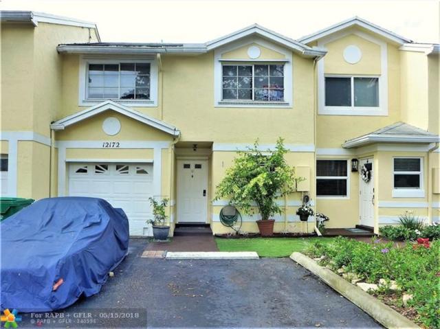 12172 SW 49th Pl #12172, Cooper City, FL 33330 (MLS #F10122938) :: Green Realty Properties