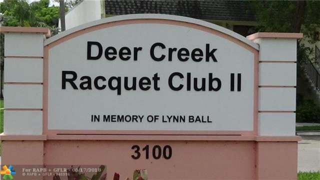 105 Deer Creek Road #209, Deerfield Beach, FL 33442 (MLS #F10123263) :: The Dixon Group