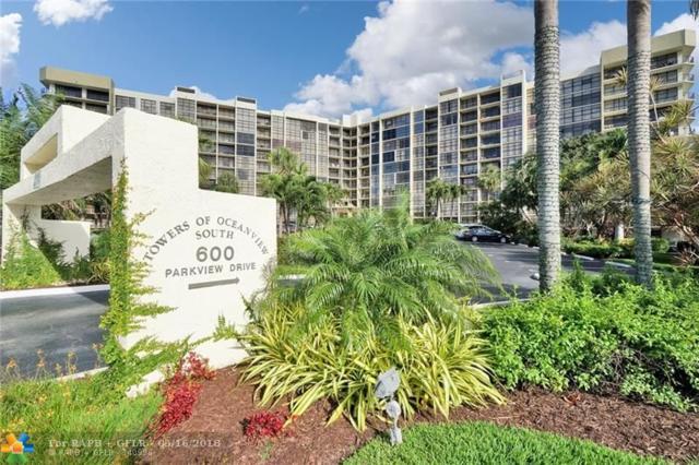 600 Parkview Dr #627, Hallandale, FL 33009 (MLS #F10123328) :: Green Realty Properties