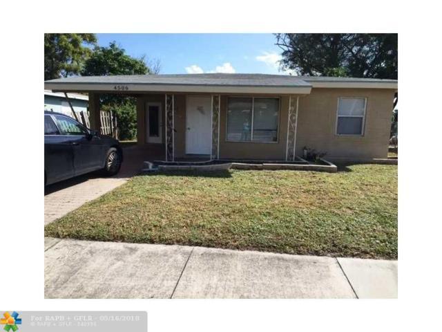 4506 Greenwood Ave, West Palm Beach, FL 33407 (MLS #F10123338) :: Green Realty Properties