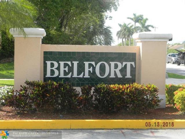 9976 N Belfort Cir #106, Tamarac, FL 33321 (MLS #F10123386) :: The Dixon Group