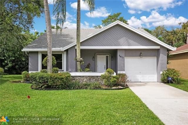 2411 N Ginger Av, Coconut Creek, FL 33063 (MLS #F10123629) :: Green Realty Properties