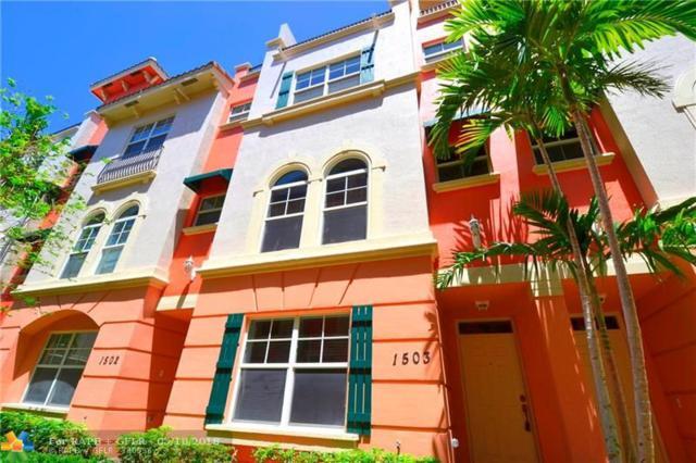1033 NE 17th Way #1503, Fort Lauderdale, FL 33304 (MLS #F10123650) :: Green Realty Properties