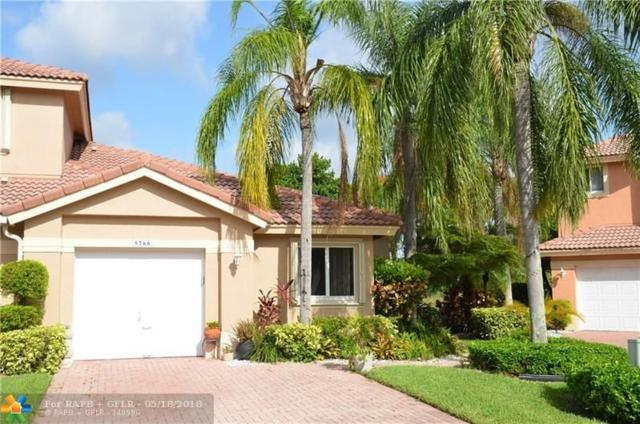5766 NW 127th Ter #5766, Coral Springs, FL 33076 (MLS #F10123672) :: Green Realty Properties