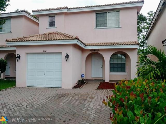 5418 NW 94th Ter., Sunrise, FL 33351 (MLS #F10123845) :: Castelli Real Estate Services