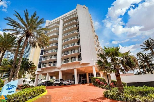 17275 Collins Ave #605, Sunny Isles Beach, FL 33160 (MLS #F10124345) :: The O'Flaherty Team