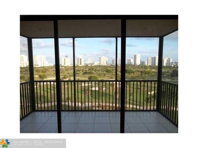 20335 W Country Club Dr #1008, Aventura, FL 33180 (MLS #F10124595) :: Green Realty Properties