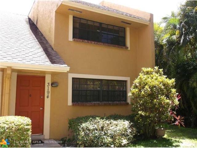 3194 N Center Court #701, Sunrise, FL 33351 (MLS #F10124722) :: Green Realty Properties
