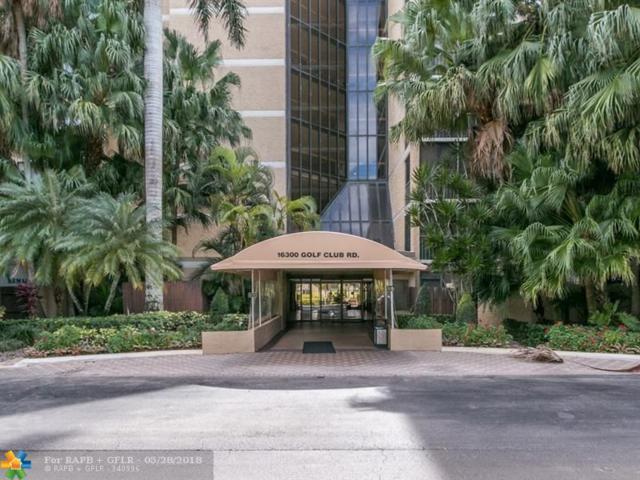 16300 Golf Club Rd #115, Weston, FL 33326 (MLS #F10124811) :: Green Realty Properties
