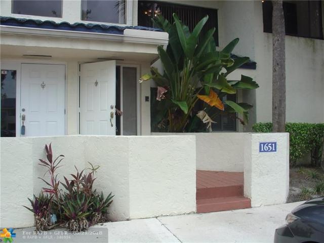 1651 NW 81st Way #1651, Plantation, FL 33322 (MLS #F10124915) :: Green Realty Properties